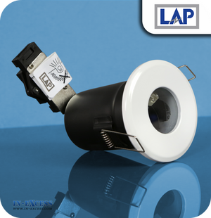 LAP 12V Fire Rated Downlight - White (84949)