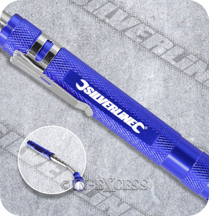 Silverline LED Extendable Magnetic Torch