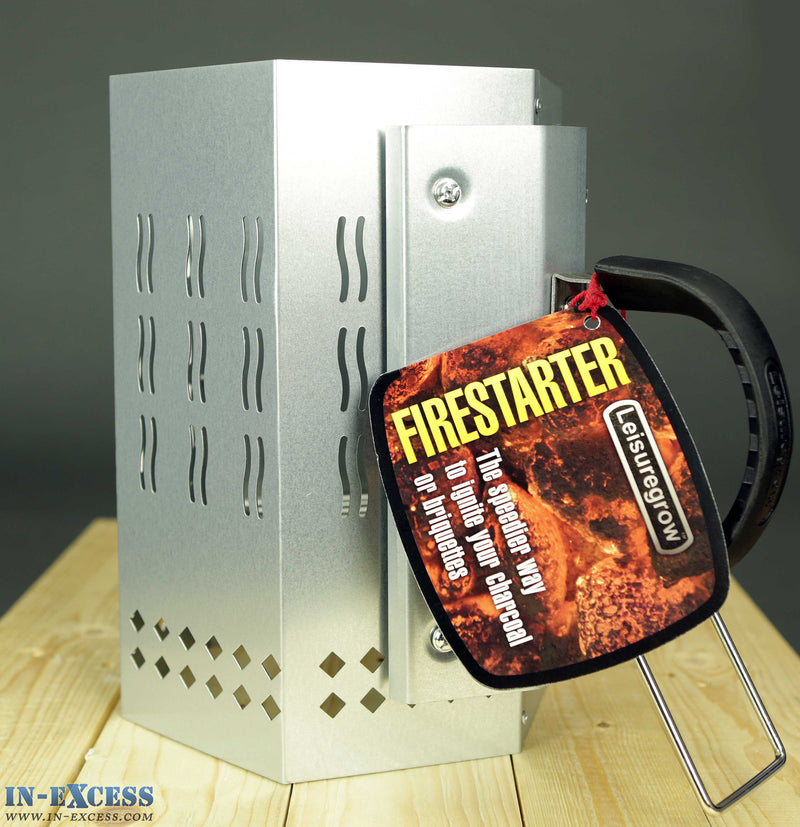 Grillstream LeisureGrow Charcoal Firestarter BBQ Igniter