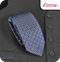 Liney Premium Men's Polyester Tie - Blue Cubes