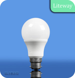 Liteway LED Dimmable GLS Bulb B22 - 10W~60W