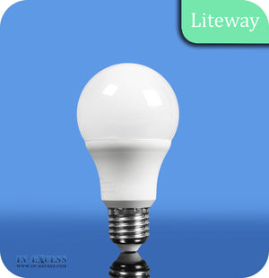 Liteway LED Non-Dimmable GLS Bulb E27 - 12W~75W