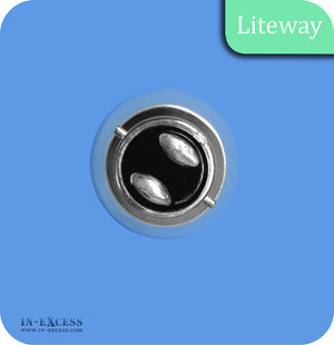 Liteway LED Non-Dimmable Filament Golf Ball Bulb B22 - 4W~25W