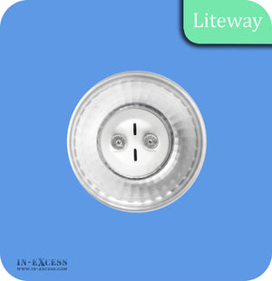 Liteway LED Non-Dimmable Glass Bulb GU10 - 4W~35W