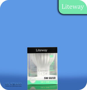 Liteway LED Non-Dimmable Bulb GU10 - 5W~50W