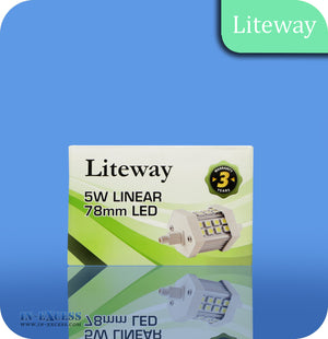 Liteway LED Non-Dimmable Linear Bulb R7s - 5W