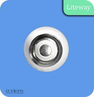Liteway LED Dimmable Clear Candle Bulb E27 - 6W~40W