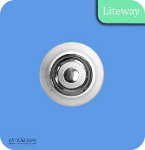 Liteway LED Non-Dimmable Frosted Golf Ball Bulb E27 - 6W~40W
