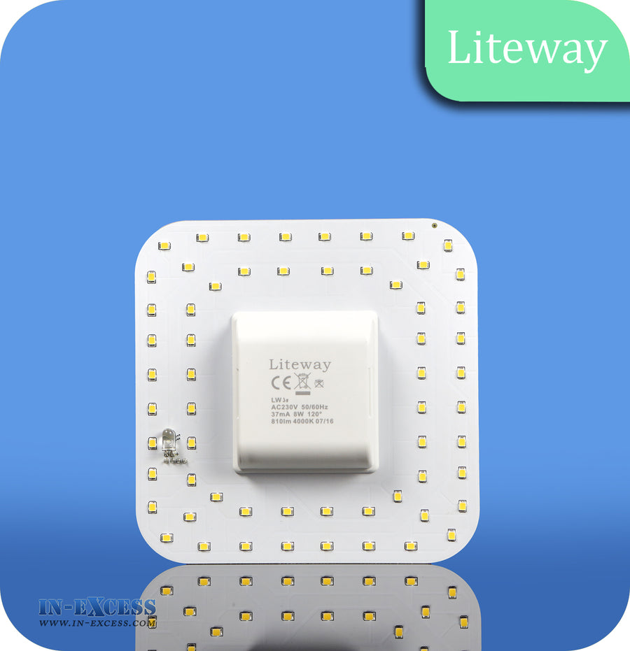 Liteway LED Non-Dimmable 2D 2 Pin Bulb - 8W~14W