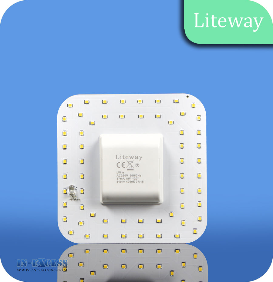 Liteway LED Non-Dimmable 2D 4 Pin Bulb - 8W~14W