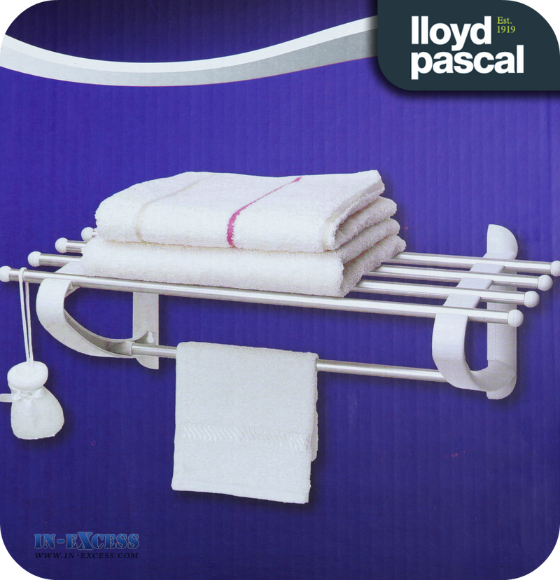 Lloyd Pascal & Co Slatted Shelf and Towel Rail