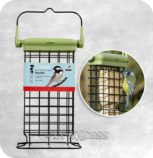 Twin Suet Cake Wild Bird Feeder