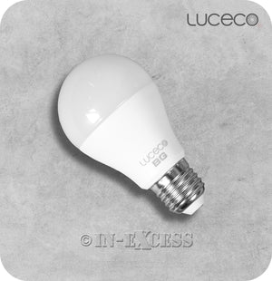 Luceco LED Non-Dimmable GLS Bulb E27 - 10W~60W (Pack of 3)