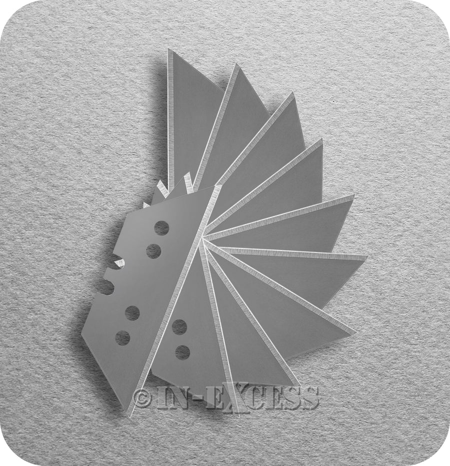 Maped Office Expert Craft Cutting Knife Replacement Blades - Pack fo 10