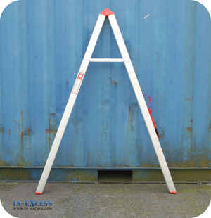 Maxim 5 Step Compact & Collapsible Aluminium Folding Ladder Max Load 150kg