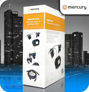 Mercury 4G Ready Clamp on UHF Mixer Aerial - 2 Input