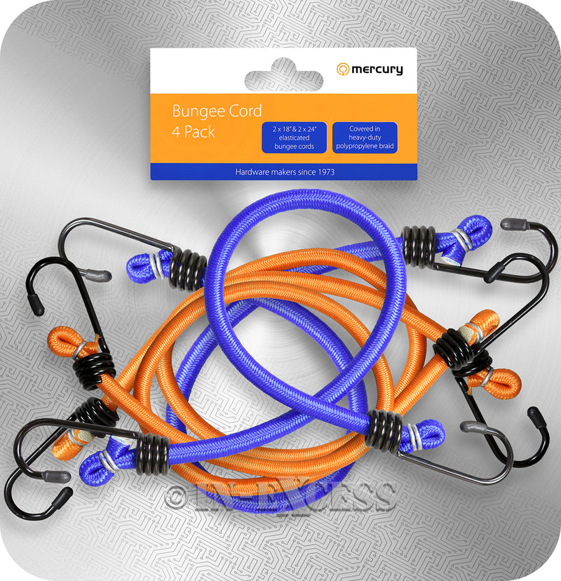Front of Bungee Cord 4 Pack Photo