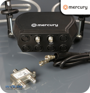 Mercury Clamp on FM/VHF/UHF Wideband Aerial - 1 Input