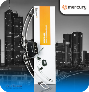Mercury Clamp on FM/VHF/UHF Wideband Aerial - 2 Input