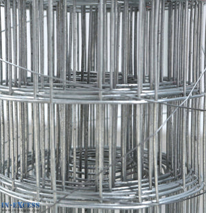 "16ga Cage & Aviary Galvanised Wire Fence Welded Mesh 2"" x 2"" 0.9 x 6m Roll"