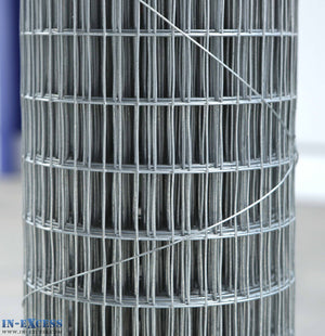 "19ga Cage & Aviary Galvanised Wire Fence Welded Mesh 1/2"" x 1"" 0.9 x 6m Roll"