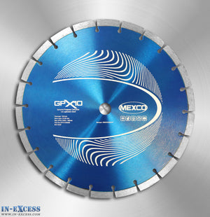 Mexco Professional GPX10 Diamond Cutting Disc for Concrete 300mm