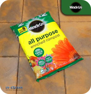 Miracle-Gro All Purpose Enriched Compost - 50 Litres