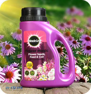 Miracle-Gro Flower Magic All in One Flower Mix - Pink & White