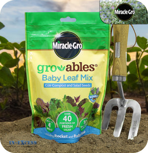 Miracle-Gro Gro-ables 100% Natural Baby Leaf Mix - 250g