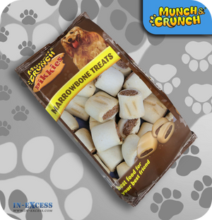 Munch & Crunch Bikkies Marrowbone Treats - 350g