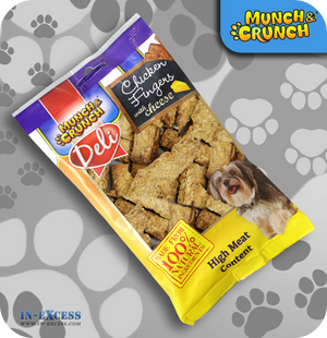 Munch & Crunch Deli Chicken Fingers - 130g