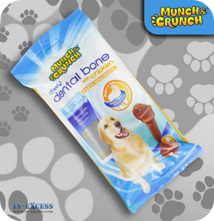 Munch & Crunch Dental Chewy Bone - Chicken