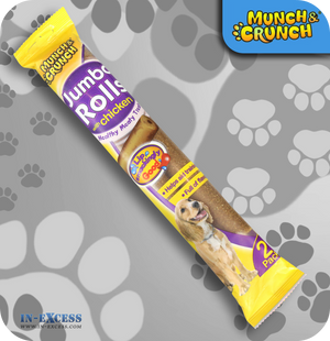 Munch & Crunch Jumbo Rolls with Chicken - Pack of 2