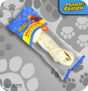 Munch & Crunch Rawhide Knotted Bone