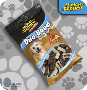 Munch & Crunch Snacks Duo Bones Lamb & Rice - 140g