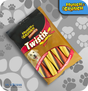 Munch & Crunch Snacks Twistix Chews - Pack of 5
