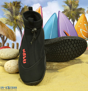 Nalu surfboard Surfing Dive Aqua Wet suit Grip Neoprene Beach Shoe Skins UK 7