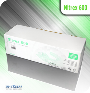 Nitrex 600 Powder Free Cleanroom Gloves - Box of 25 Pairs