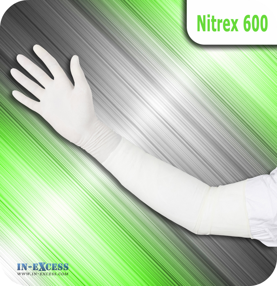 Nitrex 600 Powder Free Cleanroom Gloves - Single Pair