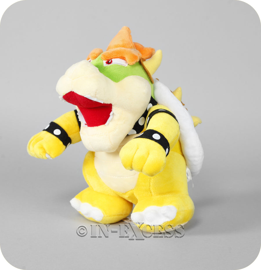 Official Licensed Nintendo Super Mario Plush Soft Toy - Bowser
