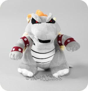 Official Licensed Nintendo Super Mario Plush Soft Toy - Bone Limited Edition Bowser