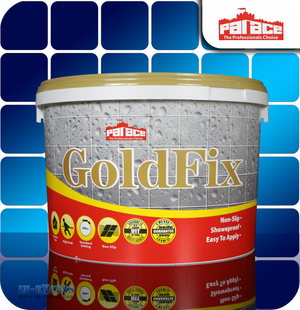 Palace Goldfix Wall Tile Adhesive Sandstone Grey - 15kg Tub (CT022)