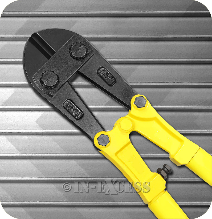 "Perimeter Professional Yellow Classic Bolt Chain Metal Cutters - 450mm (18"")"