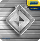 "Perimeter DuoBolt Galvanised Ground Spike Fence Support -  100mm (4"")"
