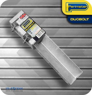 "Perimeter DuoBolt Galvanised Concrete-In Fence Support -  75mm (3"")"