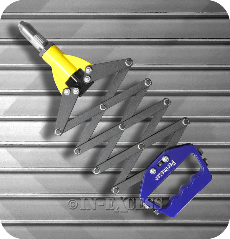 Perimeter Professional Heavy Duty Single Pull Lazy Tong Rivet Riveter Gun