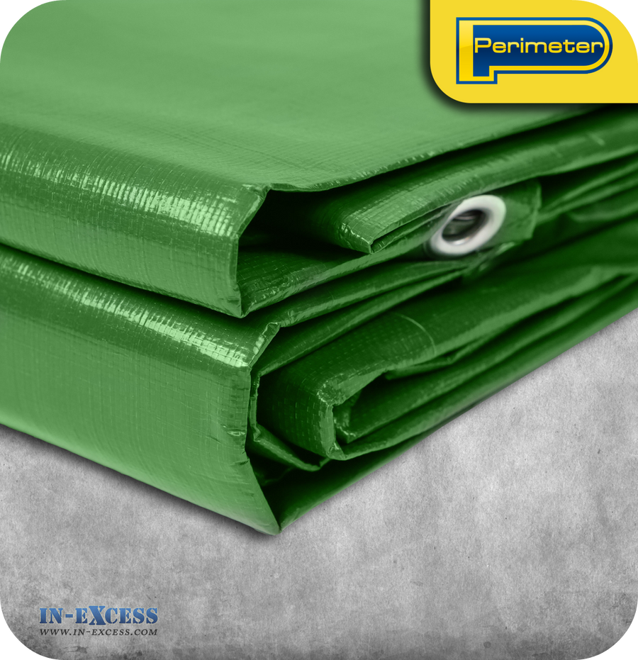 Photo of Heavy Duty Tarpaulin Green 4.5m x 6m