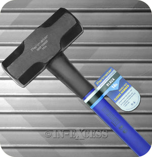 Perimeter Professional Black Drop Forged Double Faced Sledge Hammer - 14lb