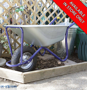 Perimeter Galvanised Wheelbarrow