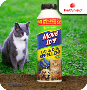 PestShield Move It Cat & Dog Repellent Powder - 300g